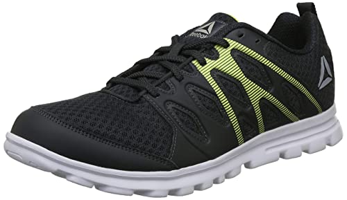 Reebok Men s Gravel Highvis Green Running Shoes-10 UK India (44.5 EU c683dae8a