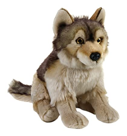 National Geographic Wolf Plush - Medium Size