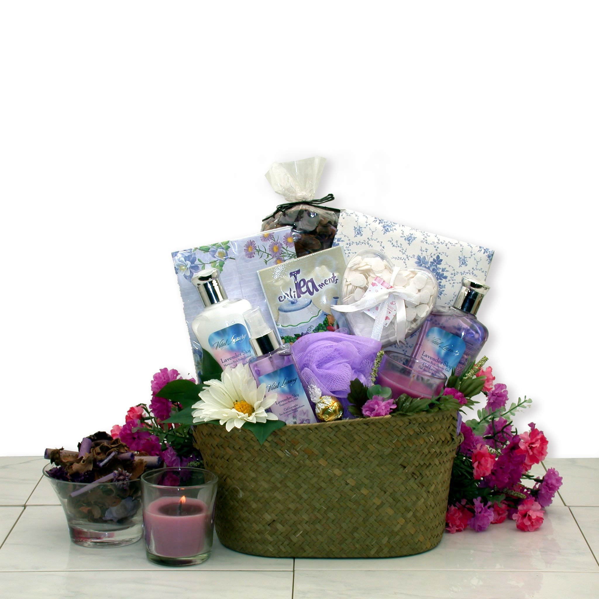 Gift for Her The Healing Spa Bath & Body Spa Gift Basket