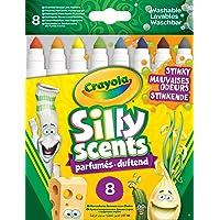 Crayola Silly Scents Kalın Keçeli Stinky Boya Kalemi, 8'li