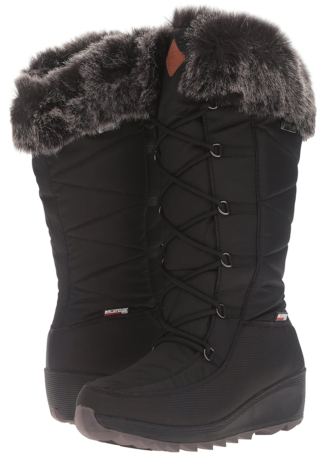 Kamik Women's Pinot Snow Boot B0198WAW3A 10 B(M) US|Black