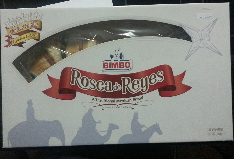 Amazon.com : Bimbo Rosca de Reyes Three Kings Day ...