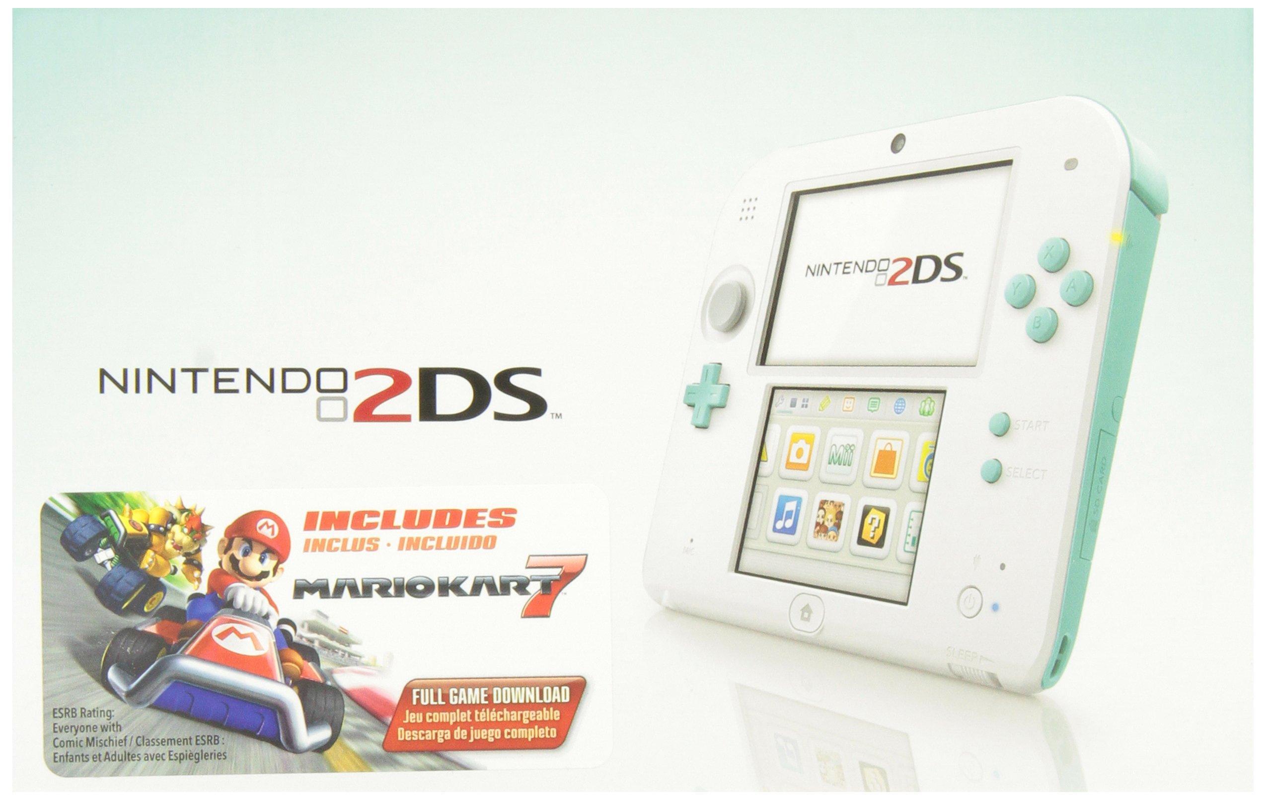 Nintendo 2DS Sea Green (Includes Mario Kart 7) by Nintendo (Image #5)