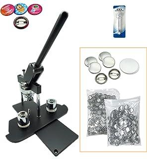 Amazon com : 2-1/4 Inch NEIL Button Machine - Includes 100