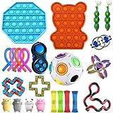 Sensory Fidget Toys Set van 23 stuks voor autisme, sensorisch speelgoed voor kinderen en volwassenen, speelgoed voor…