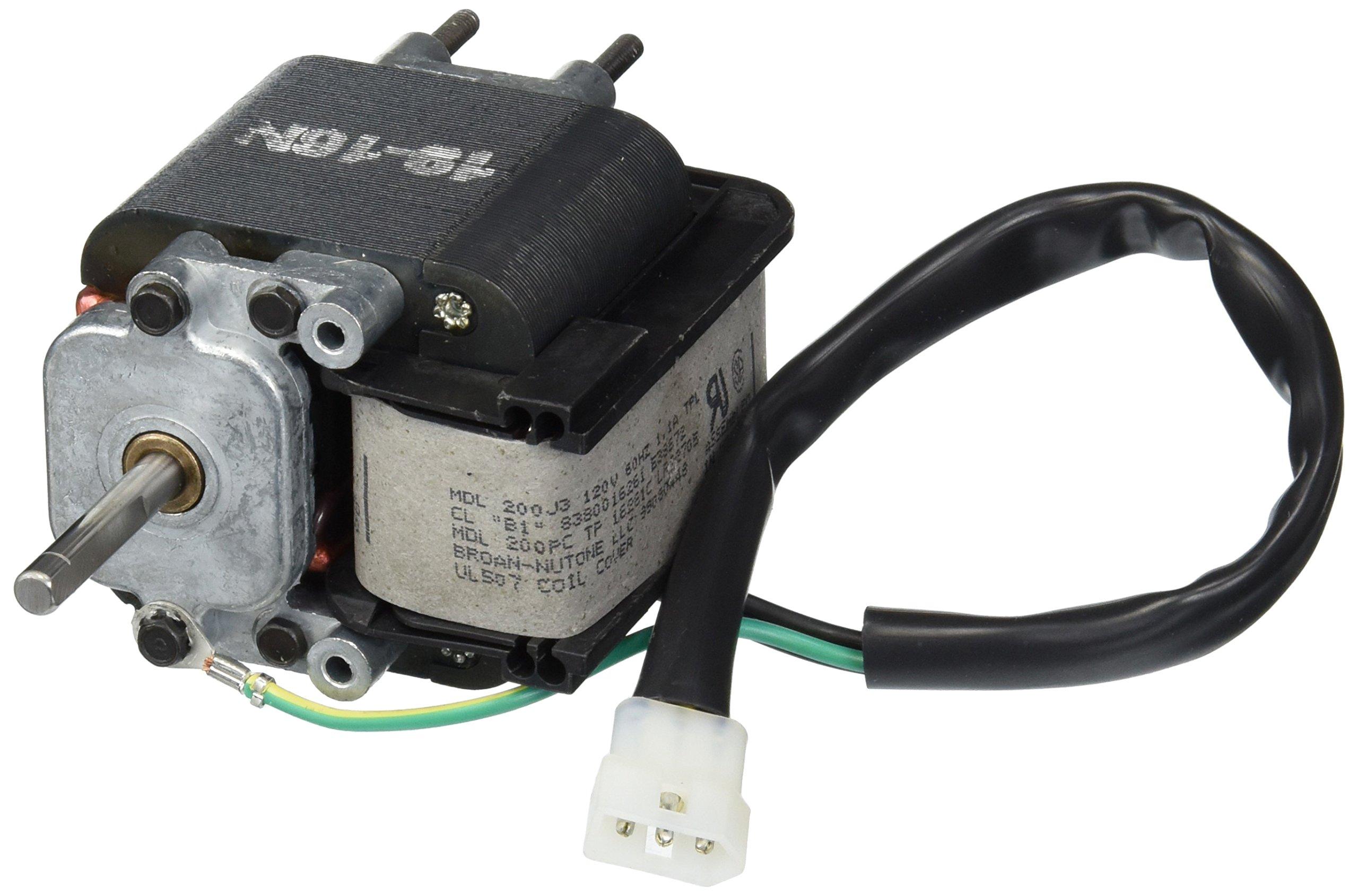 Broan S80U, S80LU Replacement Vent Fan Motor # 99080448, 1.1 amps, 3000 RPM, 120 volts