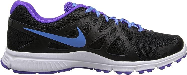 71dfe8ec55be6 Women's Revolution 2 Running Shoe. Nike Women's Revolution 2 Running Shoe  Black/University Black/Hyper Grape/White Size