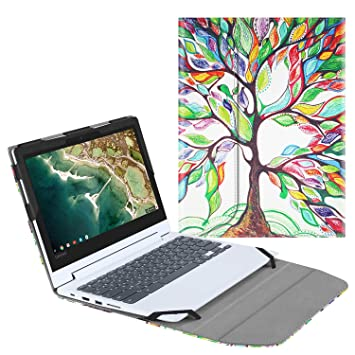 Amazon.com: Fintie - Funda para Lenovo Chromebook C330, Z ...