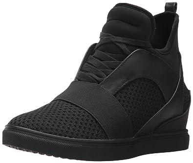 Steve Madden Women's Lexi Sneaker, Black, ...