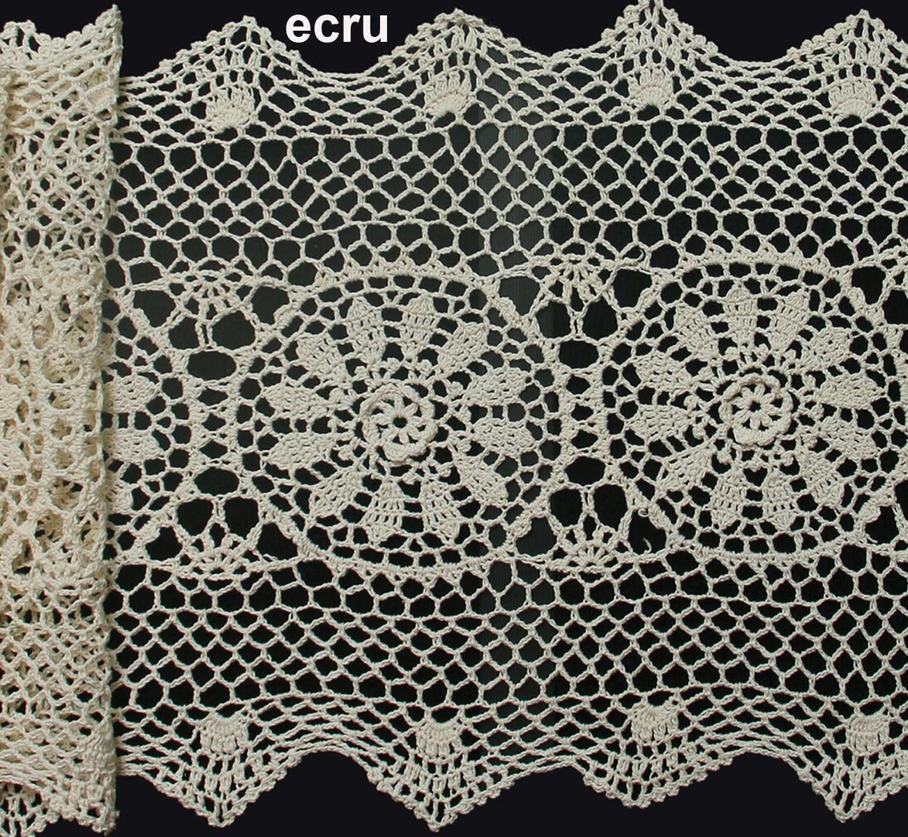 Amazon creative linens 14x54 crochet lace table runner beige amazon creative linens 14x54 crochet lace table runner beige 100 cotton handmade 1pc home kitchen bankloansurffo Image collections