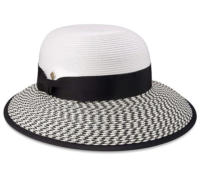 5fbcc774 MB Krauss Packable Cloche Summer Sun Hat Women Beach Straw Sunhat | UVA &  UVB Protection