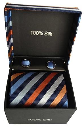 Vexcon Set de regalo con corbata, Gemelos & - Cabeza Toalla en ...