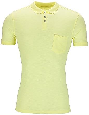 5d0b0474 Urban Heritage New Mens Polo Shirt Short Sleeve Plain Slub Top Designer  Style Fit T Shirt Tee Summer Ex High Street Store Stock: Amazon.co.uk:  Clothing
