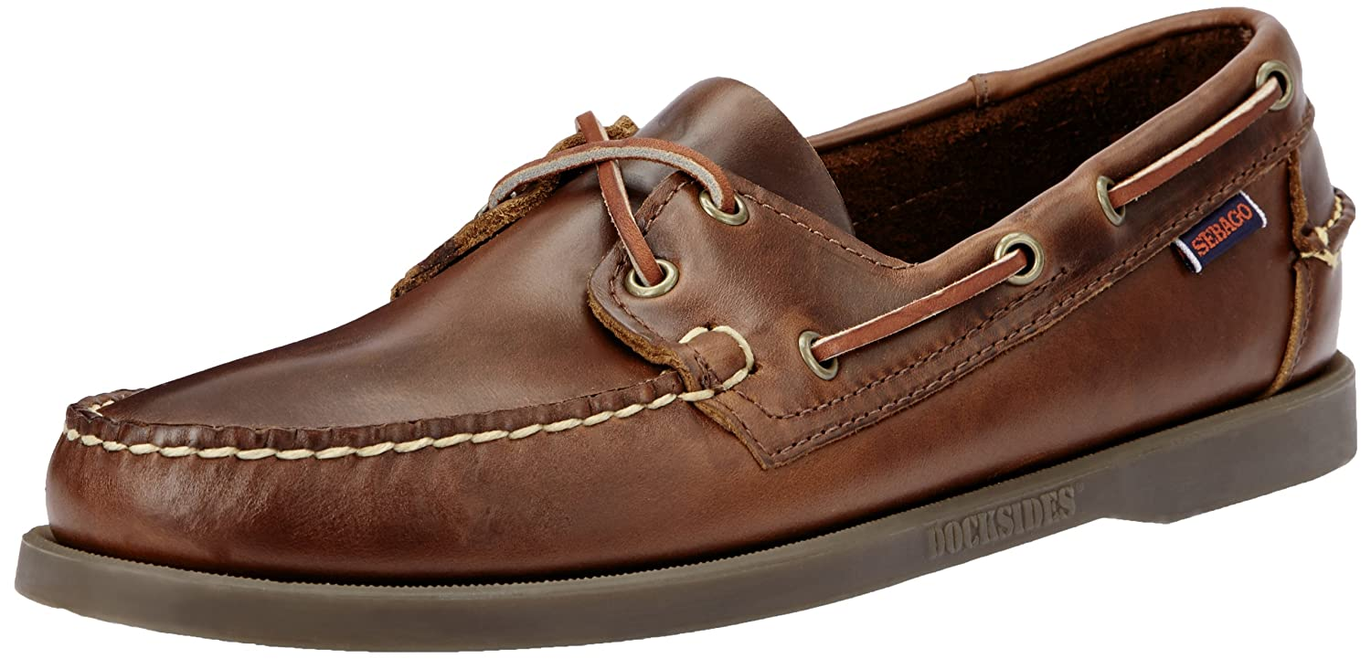 44ec5c7182aa2 Sebago Men's Docksides Portland Waxed Boat Shoes: Amazon.co.uk: Shoes & Bags
