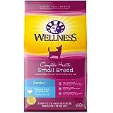 Wellness Complete Health Natural Dry Small Breed Dog Food Small Breed Senior Turkey & Peas