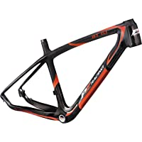 PZ Racing mt6.1fm 26 'er Marco de la Bicicleta, Color Negro Brillante/Rojo