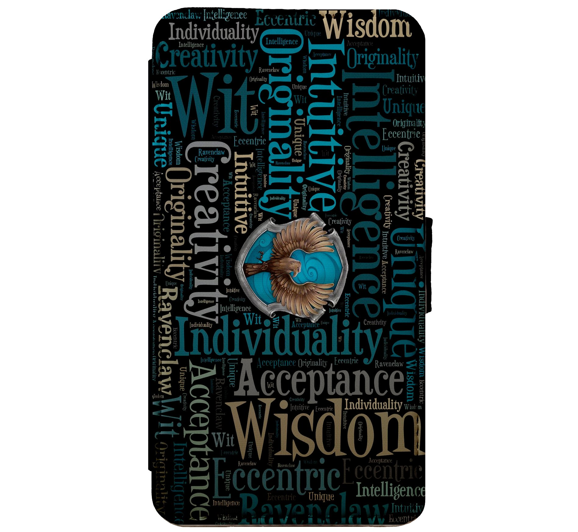 Cell Phones & Accessories Ravenclaw Hogwards Harry Potter Flip Phone Case Cover For Iphone Samsung