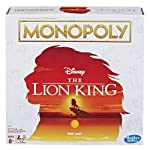 Monopoly Game Disney The Lion King Edition Family Board Game Ages 8 and Up