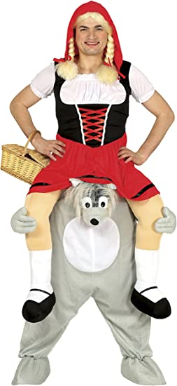 Guirca- Disfraz adulto carry me lobo, Talla 52-54 (88285.0 ...