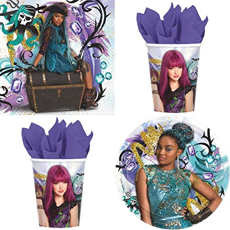 Image Unavailable Not Available For Color Disney Descendants 2 Birthday Party Supplies