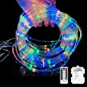 Ollivage 40-Foot 120-LED Multicolor Rope Lights