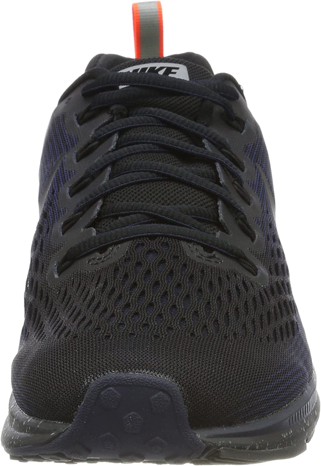 Nike Men s Air Zoom Pegasus 34 Shield Running Shoe Black Black-Black-Obsidian 9.0