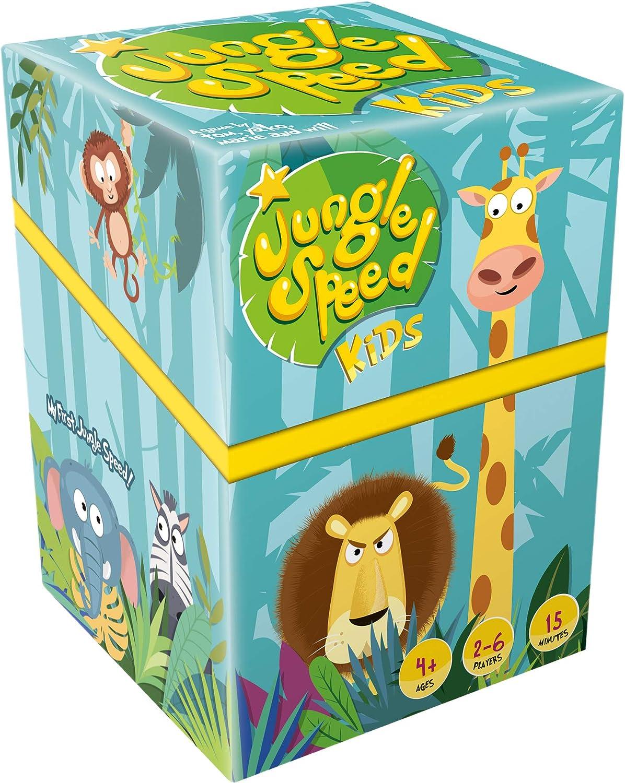 Asmodee Editions ASMJSKI01EN Jungle Speed Kids Mixed Colours