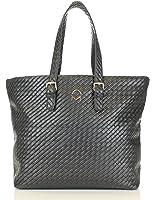 Noble Mount Weave Texture Enchanted Tote Handbag