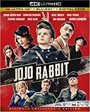 Jojo Rabbit 4k Ultra Hd [Blu-ray]