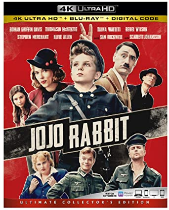 Jojo Rabbit (2019) BluRay UHD – DualAudio – DD5.1 [Hindi – English] – 2160p -1080p – x265 – Msubs