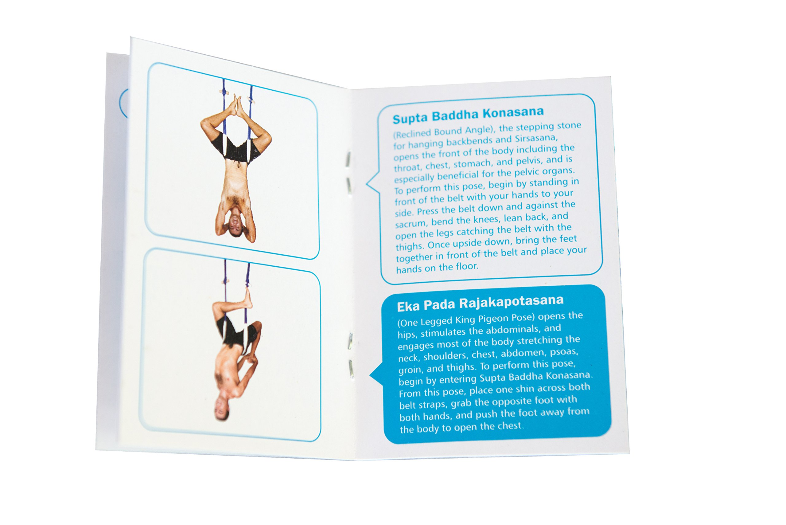 FlyHighYoga Hanging Belt - Ultra Strong Aerial/Trapeze/Swing/Sling/Antigravity Tool - Inversion Exercises