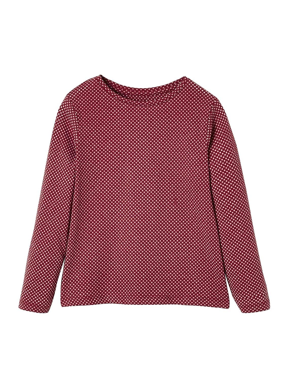 Longsleeve und T-Shirt dunkelrosa//Bordeaux 146//152 VERTBAUDET M/ädchen Sport-Set