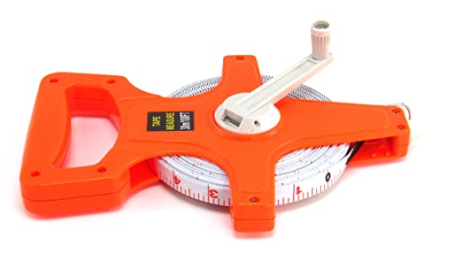 Elitexion 100-Feet Open Reel Fiberglass Tape Measure 100FTTMOR