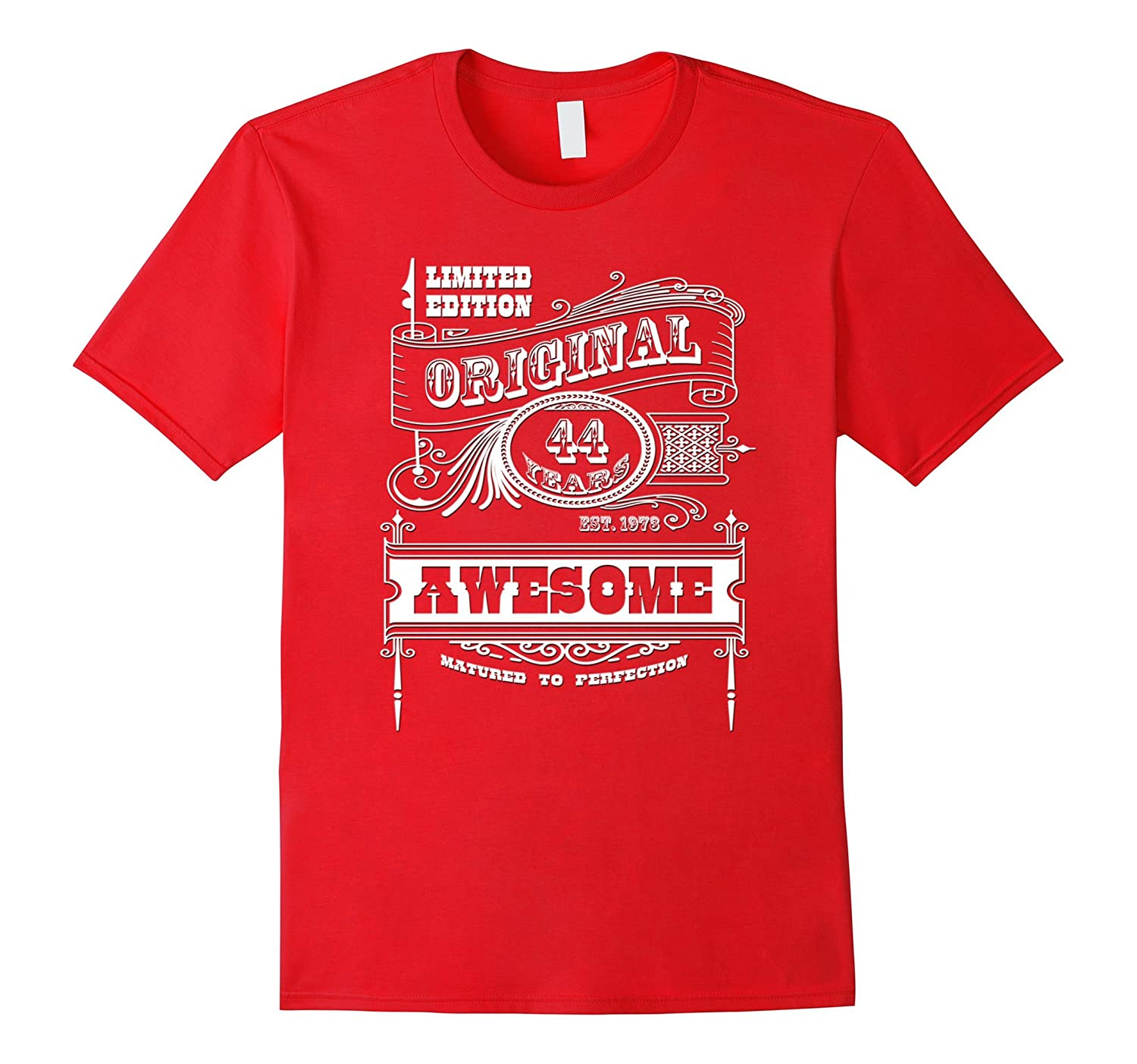 Best 44th Birthday Made in 1973 Awesome T-Shirt Gift Idea-Vaci