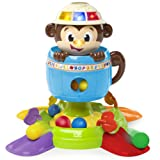 Amazon Price History for:Bright Starts Baby Toy, Hide 'n Spin Monkey