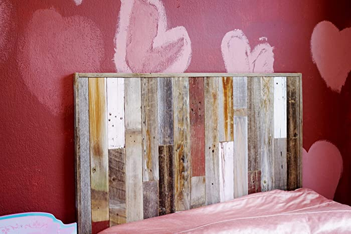 Rustic Twin Size Bed Panel Headboard (45 3/4\