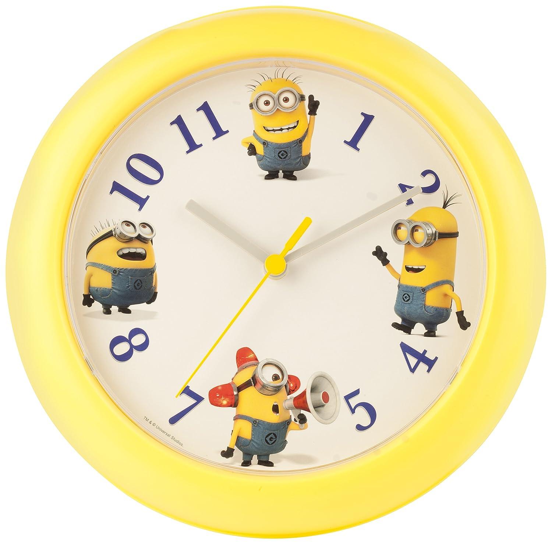 Illumination MINIONS Wall Clock, Yellow MNS82