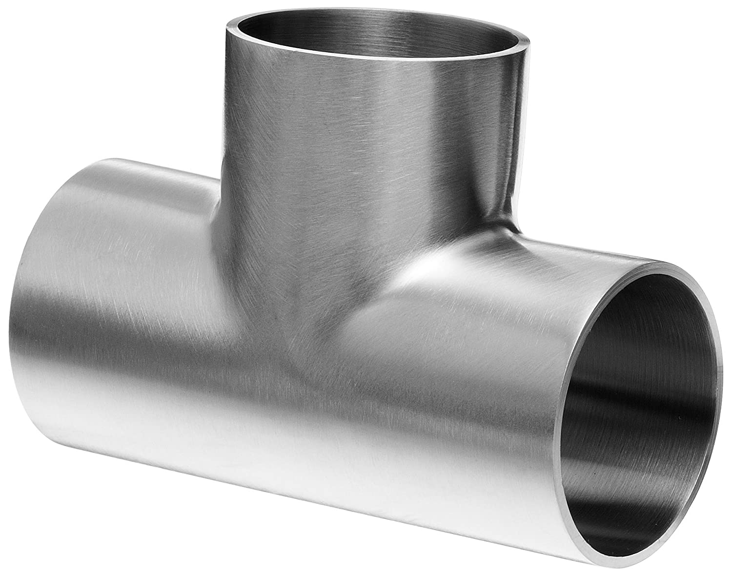 Dixon B7WWW-G150P Stainless Steel 304 Polished Fitting Weld Short Tee 1-1//2 Tube OD