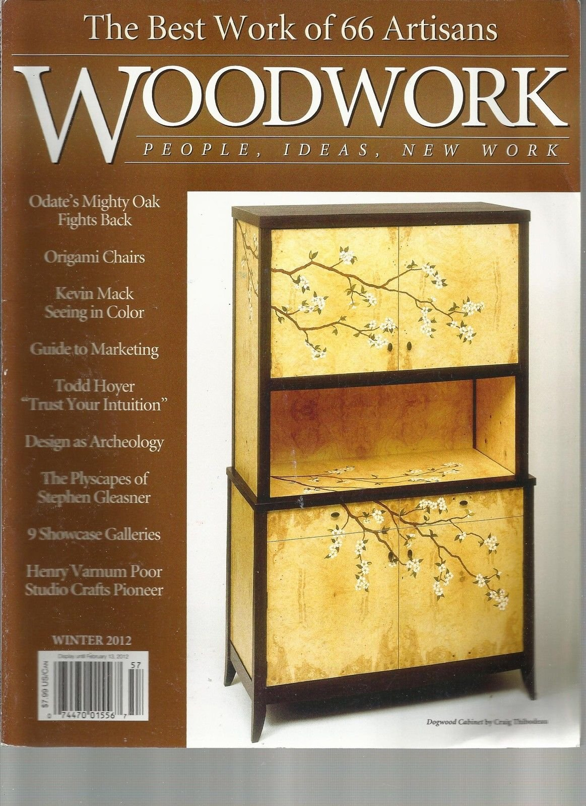 WOOD WORK, WINTER, 2012 (THE BEST WORK OF 66 ARTISANS) PEOPLE * IDEAS * by Generic (Image #1)