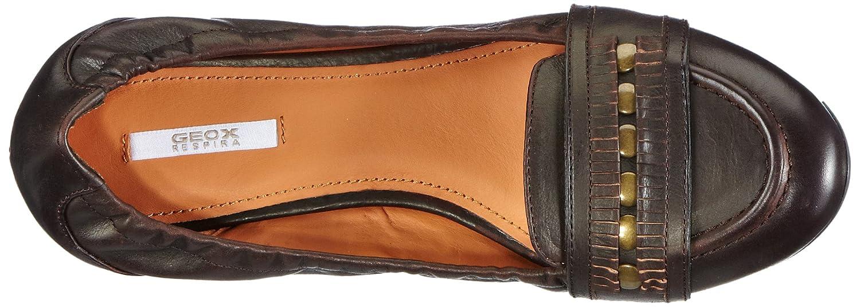 Geox D TRIXIE B D3436B00038 C6037) Damen Slipper Braun (Rust C6037) D3436B00038 2a2769