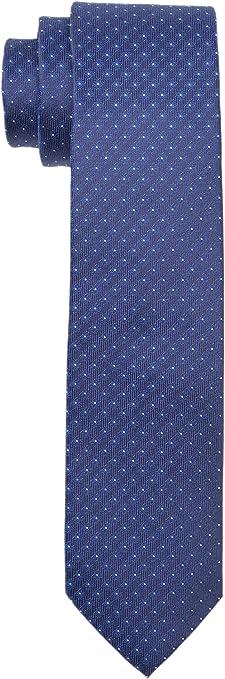 Calvin Klein Slim 6.4 Cm Corbata, Azul (Teal), Talla única para ...