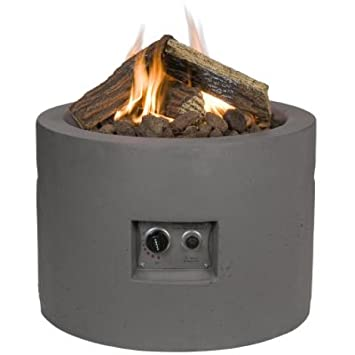 Gartenfeuer Gas Fire Tondo Taube Amazon Co Uk Garden Outdoors