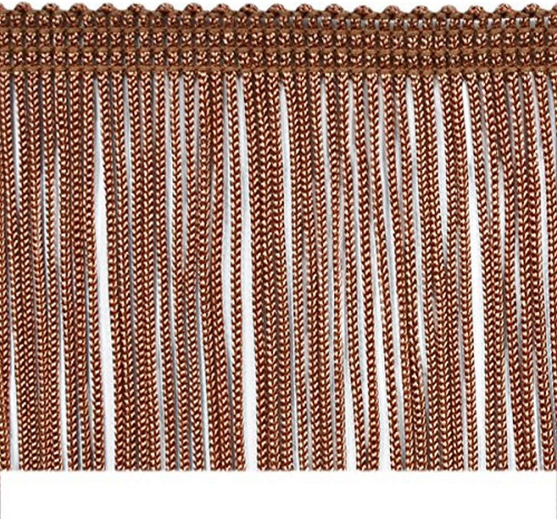 Expo International 10 Yards of 2 Chainette Fringe Trim White