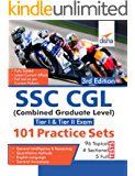 SSC CGL (Combined Graduate Level Tier I & Tier II) Exam 101 Practice Sets 3rd Edition
