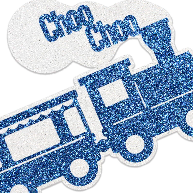 Happy 2nd Choo Choo Train Locomotive Birthday Cake Topper Kids Two Years Old Vintage Train Birthday Decor Train Travel Themed Birthday Party Cake Decororation
