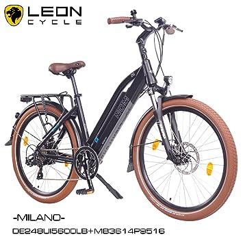 NCM Milano 26 pulgadas bicicleta eléctrica Hombre/Mujer Unisex Pedelec, E-Bike,