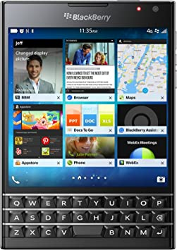 BlackBerry Passport - Smartphone de 4.5