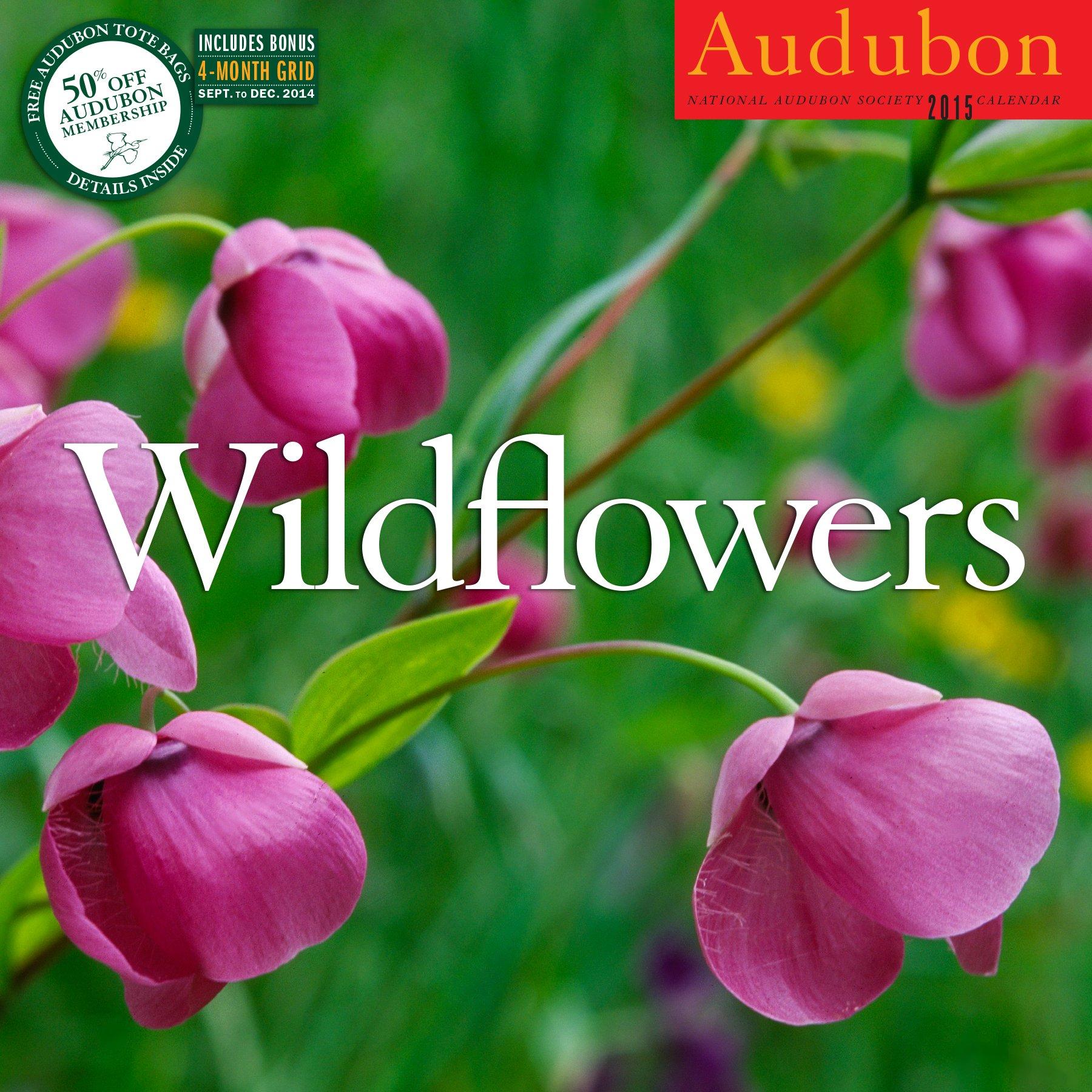 Audubon Wildflowers Calendar 2015 Calendar – Wall Calendar, July 21, 2014 National Audubon Society Artisan 1579655750 Calendars