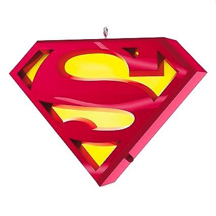 Amazon Hallmark Keepsake 2017 Superman A Symbol Of Hope Musical