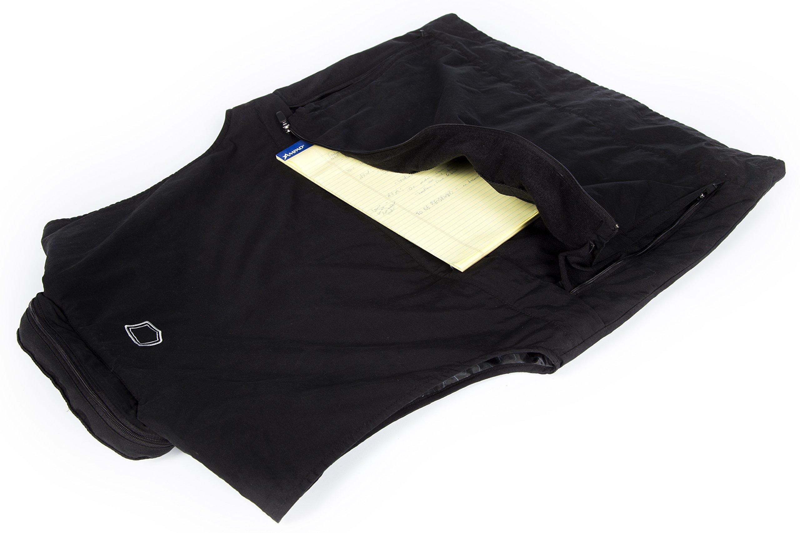 SCOTTeVEST Men's Q.U.E.S.T. Vest - 42 Pockets – Photography, Travel Vest BLK XLT by SCOTTeVEST (Image #6)